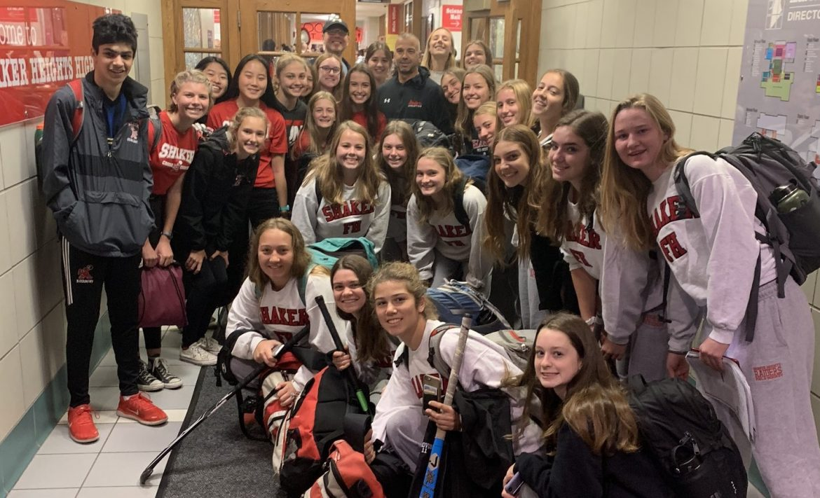 shaker heights high school cross country and field hockey